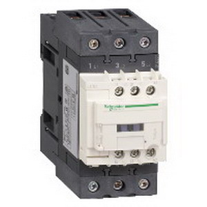 Schneider Electric / Square D LC1D50AB7 TeSys Non-Reversing IEC Contactor; 3-Pole, 1 or 3 Phase, 50 Amp, 600 Volt