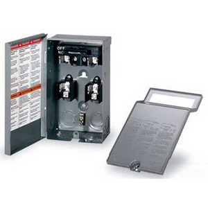 Schneider Electric / Square D FP222R Fusible Pullout AC Disconnect Switch; 240 Volt AC, 30 Amp