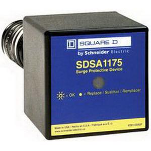 Schneider Electric / Square D SDSA1175T SDSA Surge Suppressor 36 Kilo-Amp, 120 Volt, Close Nippled/Back Mount,