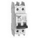 Schneider Electric / Square D 60149 Miniature Branch Circuit Breaker; 30 Amp, 120/240 Volt AC/125 Volt DC, 2-Pole, 35 mm DIN Rail Mount
