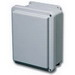 Stahlin MOD-J1008WA-29935.2 J Series Junction Enclosure; 9.375 Inch Width x 5.09375 Inch Depth x 11.375 Inch Height, Lift-Off, Crowned, Fiberglass Reinforced Polyester