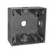 Thepitt TP7118 2-Gang Weatherproof Outlet Box; 5 Outlet, 2 Dp, Mounting Feet