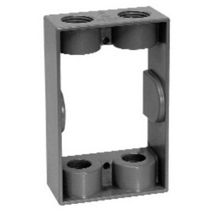 Thepitt TP7173 Extension Adapter; 4 Outlet, Gray, 9.5 Cubic-Inch