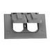 Thepitt TP7209 Rectangular Self-Closing 1-Gang Weatherproof Cover; 1 Outlet, Box/Horizontal, Die-Cast Aluminum, Bronze