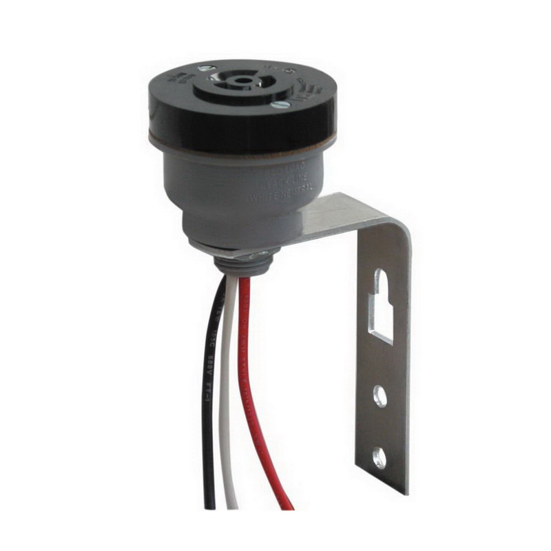 NSI 2421 Tork® Receptacle With Cup and Bracket; 120 - 480 Volt, Plastic, For Turn-Lock Controls, Twist Lock Timers