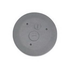 Wiremold 4FFATCBK Multi-Service Poke-Thru Assembly; Black, Metal