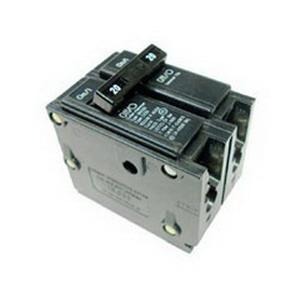 Eaton / Cutler Hammer BRH2125 Circuit Breaker; 125 Amp, 120/240 Volt AC, 2-Pole, Plug-On Mount
