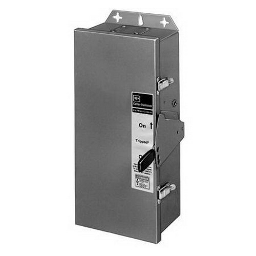 Eaton / Cutler Hammer RFDN225 Rainproof Enclosure; 15 - 225 Amp, 600 Volt AC/500 Volt DC, 3-Pole, Surface Mount