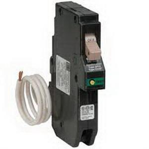Eaton / Cutler Hammer CH115CAF Combination Fireguard Arc Fault Circuit Breaker; 15 Amp, 120/240 Volt AC, 1-Pole, Plug-On Mount