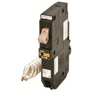 Eaton / Cutler Hammer CHFEP120 Ground Fault Equipment Protector Circuit Breaker; 20 Amp, 120 Volt AC, 1-Pole, Plug-On Mount