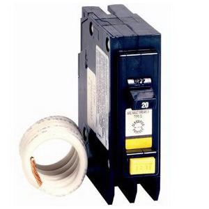 Eaton / Cutler Hammer CL115CAF Arc Fault Circuit Breaker; 20 Amp, 120/240 Volt AC, 1-Pole, Plug-On Mount