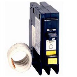 Eaton / Cutler Hammer CL120CAF Arc Fault Circuit Breaker; 20 Amp, 120/240 Volt AC, 1-Pole, Plug-On Mount