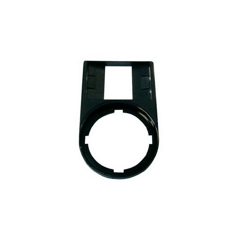 Eaton / Cutler Hammer M22S-ST-X Legend Plate Holder; Black