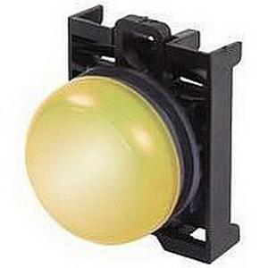 Eaton / Cutler Hammer M22-L-Y-230W Illuminated Indicating Light; 85 - 264 Volt AC, Yellow