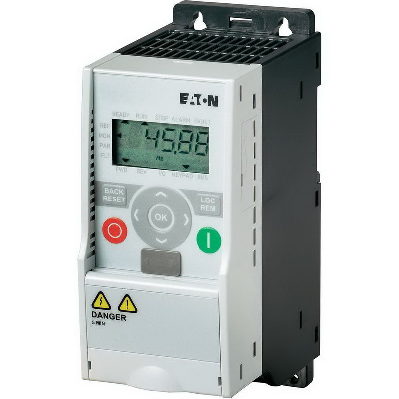 Eaton / Cutler Hammer MMX34AA2D4F0-0 M-Max 480 Volt Adjustable Frequency AC Drive; 2.4 Amp, 3 Phase, 1 hp