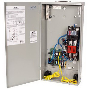 Eaton / Cutler Hammer EGSX200NSEA Standard Automatic Transfer Switch; 120/240 Volt, 200 Amp, 25 Kilo-Amp Interrupt, 1 Phase