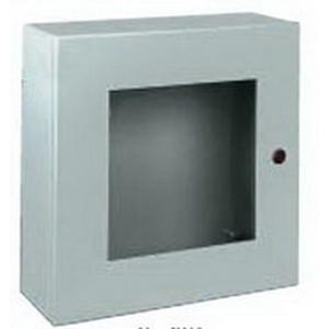 Wiegmann N412201608WC Single Door WC Ultimate Series Enclosure 305 mm Width x 203 mm Depth x 406 mm Height  14 Gauge Steel Body and Door
