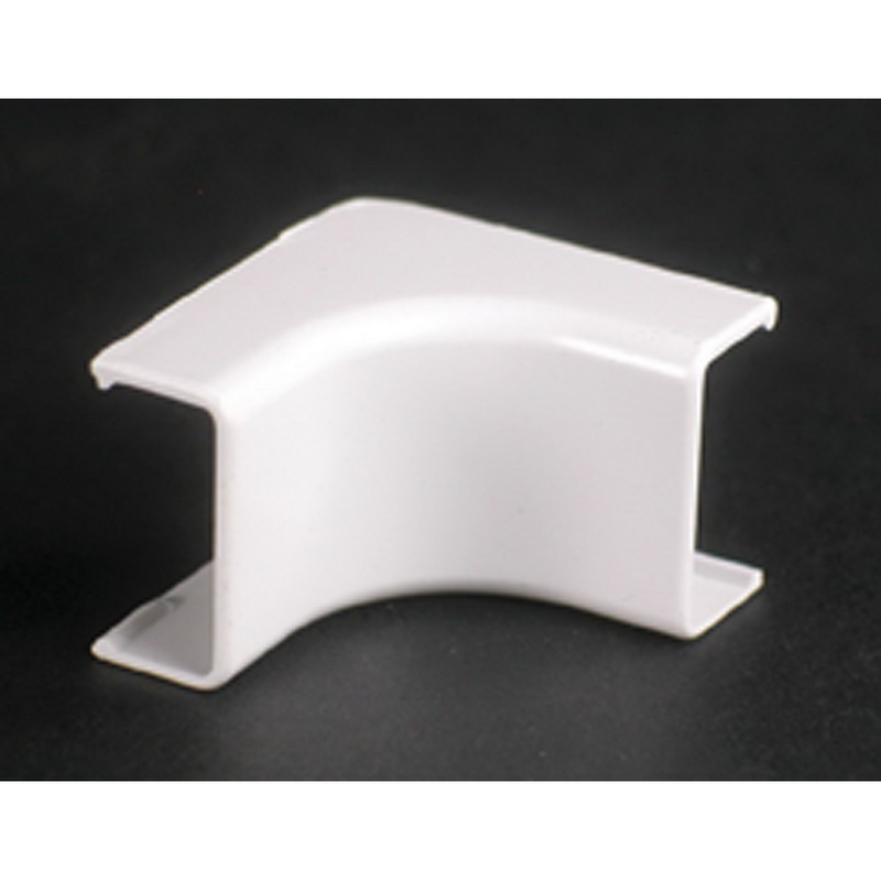 Wiremold 2717 Single-Channel Uniduct 2700 Series Internal Elbow Fitting; 1-1/4 Inch Length x 3/4 Inch Width Ivory, Nonmetallic