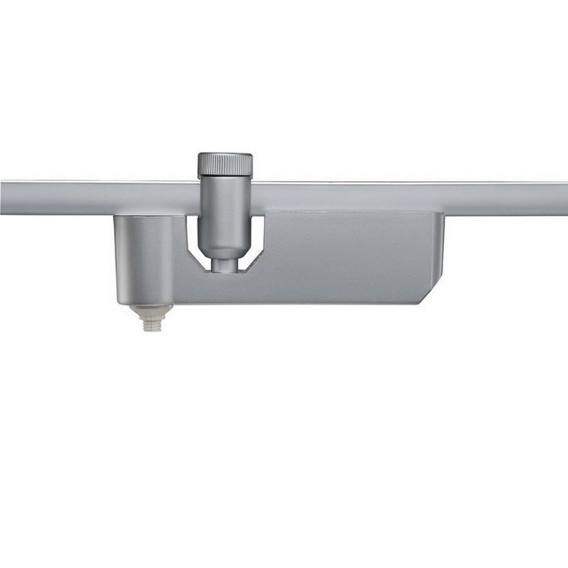 """""""""""WAC Lighting HM1-EN50-PT Quick Connect Flexrail Adapter 1 Watt, Platinum,"""""""""""" 102486"""