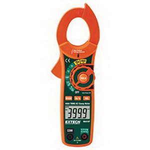 FLIR (Extech) MA410T True-RMS, Non-Contact Voltage Detector AC Current Clamp Meter