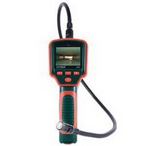 FLIR (Extech) BR80 Video Borescope Inspection Camera; 480 x 234 Pixel, 2 - 6 Inch Focus Point, 72 Degree Viewing Angle