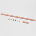 Cooper B-Line SB57903 Universal Ground Bar Kit; 19.3125 Inch Length, Copper