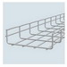 Cablofil 61 CF5450EZ Wire Mesh Cable Tray; 120 Inch x 1.967 Inch x 2 Inch, Carbon Steel, Electro Zinc-Plated