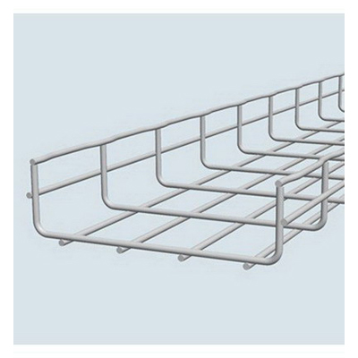 Cablofil CF54100EZ Wire Mesh Cable Tray; 120 Inch x 3.937 Inch x 2 Inch, Carbon Steel, Electro Zinc-Plated