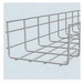 Cablofil CF105450EZ Wire Mesh Cable Tray; 118.200 Inch x 17.710 Inch x 4.180 Inch, Carbon Steel, Electro Zinc-Plated