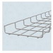 Cablofil CF30/200IN316L Section Cable Tray; 118.200 Inch x 8 Inch x 1 Inch, Carbon Steel, Electro Zinc-Plated