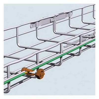 Cablofil 942616 GNDSB Grounding Lug; 3 - 1/4 AWG, Steel
