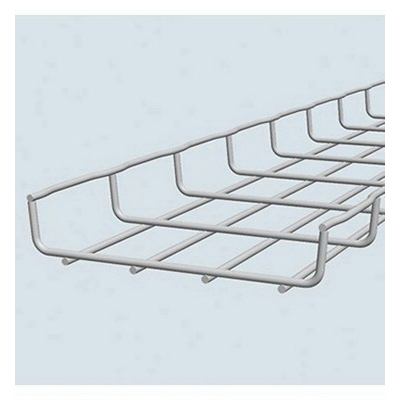 Cablofil CF30/150IN316L Section Cable Tray; 118.200 Inch x 6 Inch x 1 Inch, Carbon Steel, Electro Zinc-Plated