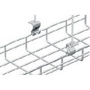 Cablofil 586020 ASPG Trapeze Hanging Clip; 6 Inch x 6 Inch x 4 Inch, Steel, Pre-Galvanized, 50/Case
