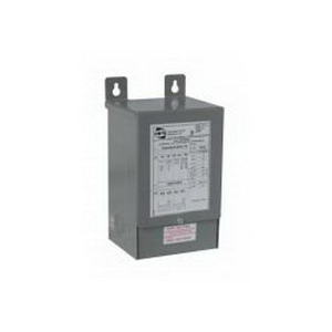 Hammond QC50LECB Distribution Transformer; 240/480 Volt AC Primary, 240 Volt Secondary, 0.5 KVA, 1 Phase, Wire Lead