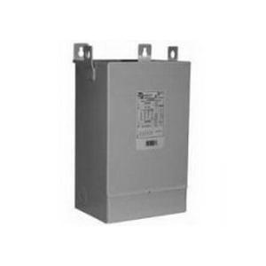 Hammond Q1C0LEKB Distribution Transformer; 240 x 480 Volt Primary, 120/240 Volt Secondary, 1 KVA, 1 Phase, Wire Lead