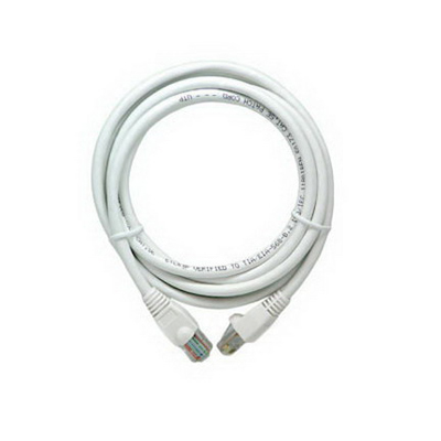On-Q AC3507-WH-V1 Category 5e Patch Cable; 24 AWG, 7 ft, White