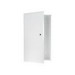 On-Q EN2050 Enclosure with Hinged Door; Surface/Flush Mount, Glossy White