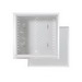On-Q EN1400 Enclosure With Cover; Surface/Flush Mount, Glossy White