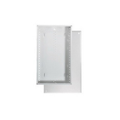 On-Q EN2800 Enclosure With Cover; Surface/Flush Mount, Glossy White