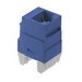 On-Q WP3460-BE Category 6 RJ45 Connector; 8C, Blue