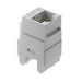 On-Q WP3460-WH Category 6 RJ45 Connector; 8C, White