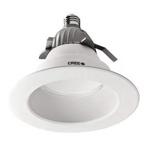 Cree CR6-625L-30K-12-E26 CR Series LED Downlight; 120 Volt, 12 Watt