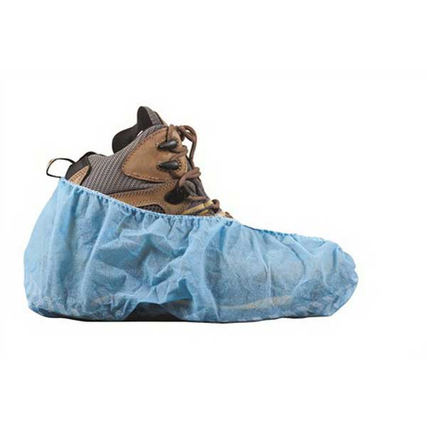 Lift Safety ASC-14B Shoe Cover; Blue, 50/PK