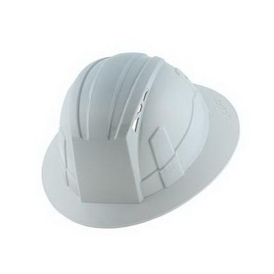 Lift Safety HVF-1LE Vantis Full Brim Hard Hat; HDPE, Nylon Webbing Shell, Yellow