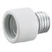 Hubbell Wiring RL150 HomeSelect™ Incandescent Socket Extension Adapter; 250 Volt, 250 Watt, Screw-In Mount, Porcelain, White