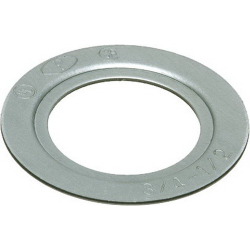 Arlington RW11 Reducing Washer; 2 Inch x 1/2 Inch Conduit, Steel, Plated