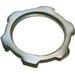 Arlington 411 Conduit Locknut; 5 Inch, Plated Steel