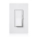 Lutron DVCL-153PH-WH Diva® C.L™ 3-Way Preset Slide Dimmer With Paddle On/Off Switch; 120 Volt AC, White Color Gloss Finish, Wall Box Mount