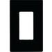 Cooper Wiring PJS26BK-SP Mid-Size Screwless 1-Gang Decorator Wallplate; Polycarbonate, Black