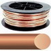 Southwire 10632802 Bare Cable; 8 AWG, Solid, Soft Drawn Bare Copper Conductor, 500 ft